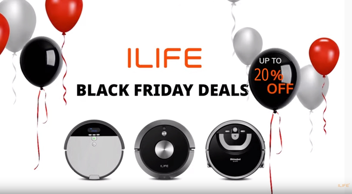 ILIFE - Black Friday Special 2019 | Up to 35% OFF!